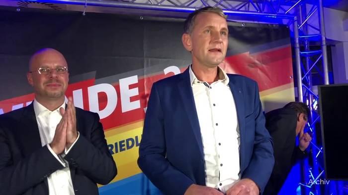 News video: Verfassungsschutz erklärt Höckes «Flügel» zum