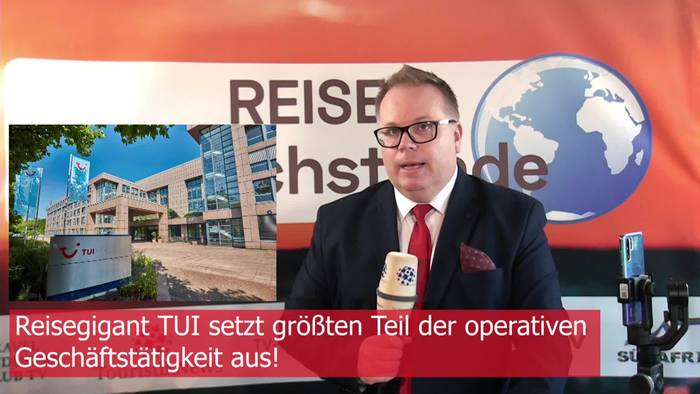 News video: TouristikNews aktuell: TUI und FTI stellen operativen Betrieb ein - Reisebranche down!