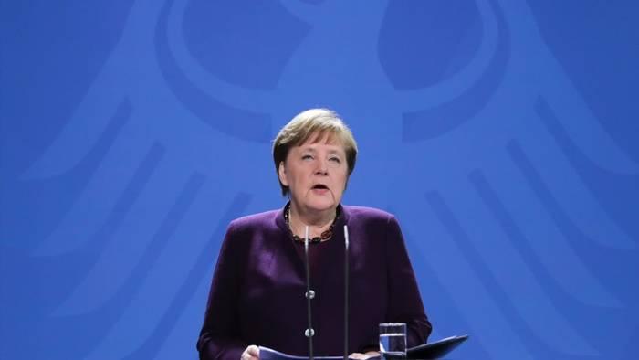 News video: Merkel: Einschneidende Maßnahmen in Corona-Krise notwendig