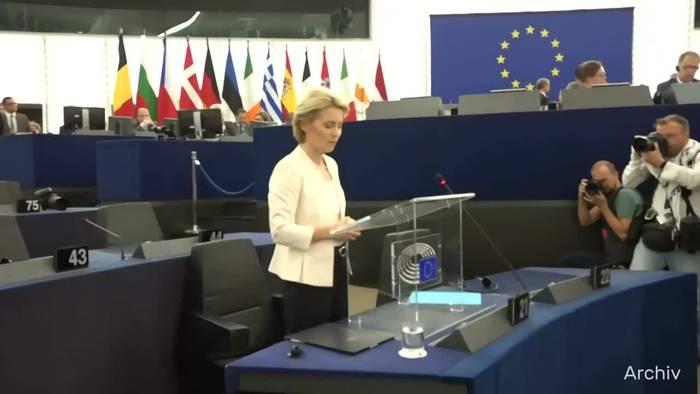 Video: Corona: Von der Leyen will Einreisen in die EU beschränken