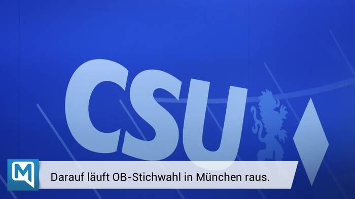 News video: Schutz vor Corona - Stichwahl in Bayern nur per Brief