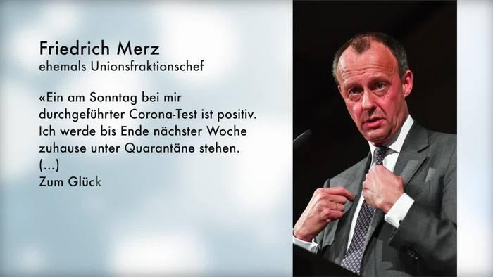 News video: Friedrich Merz ist mit Coronavirus infiziert