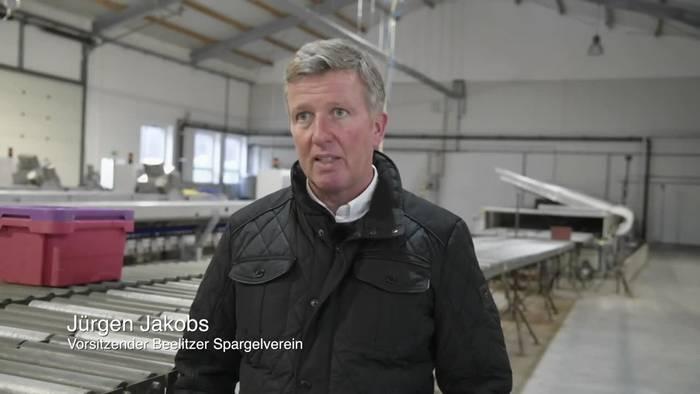 News video: Coronakrise: Spargelbauern fordern «Passierschein» für