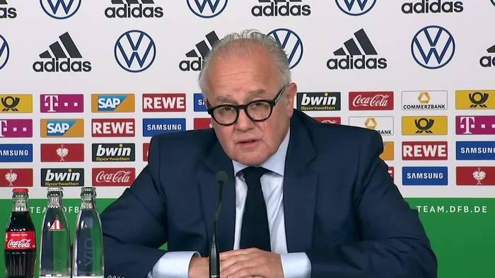 Video: So bewertet der DFB die Coronakrise für den Fußball