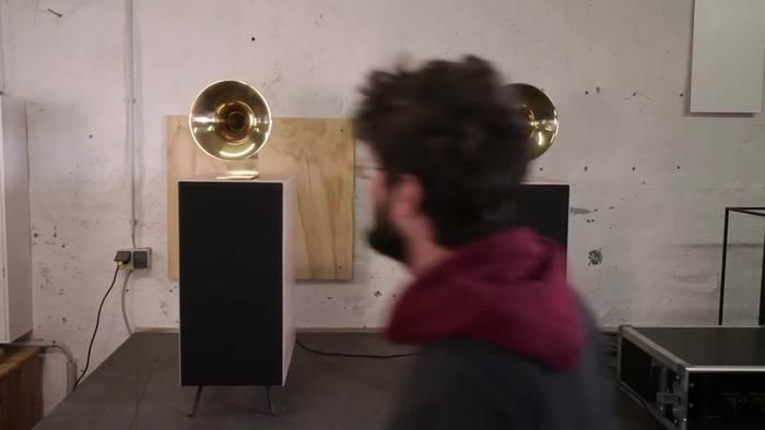 News video: Rügener Start-up baut maßgefertigte Lautsprecher
