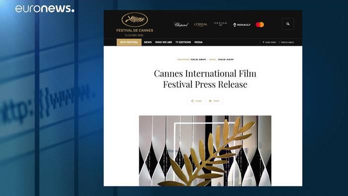 Video: Filmfestspiele von Cannes: Verschieben oder absagen