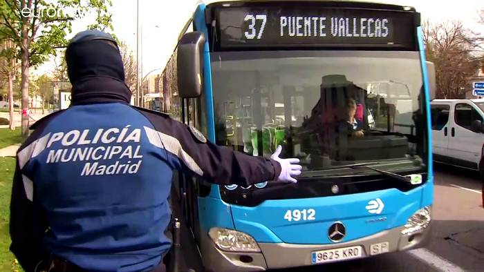 News video: Tag 6 der Ausgangssperre in Spanien: