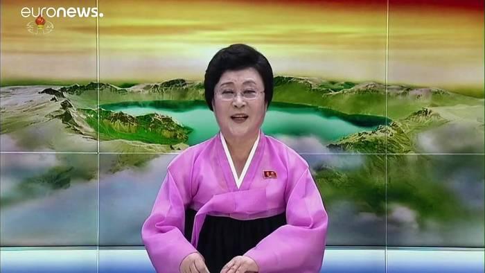 News video: Nordkorea testet Raketen