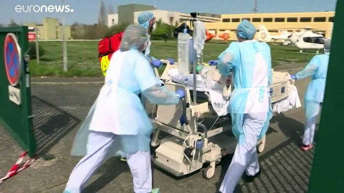 News video: Hilfe für das Elsass: Deutschland nimmt Covid-19-Patienten auf