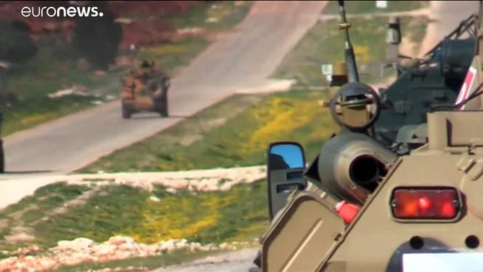 News video: Zweite russisch-türkische Patrouille in Idlib