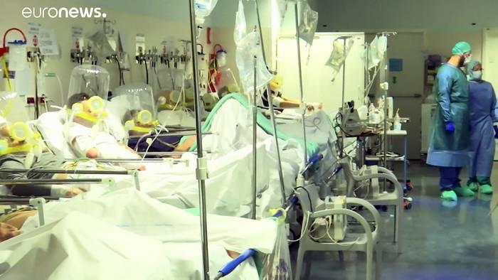 Video: 860 Tote in Frankreich - darunter 3 Ärzte - 2.000 Patienten auf Intensivstation