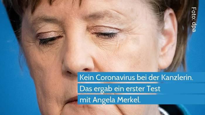 News video: Corona Test der Kanzlerin Angela Merkel - das Ergebnis