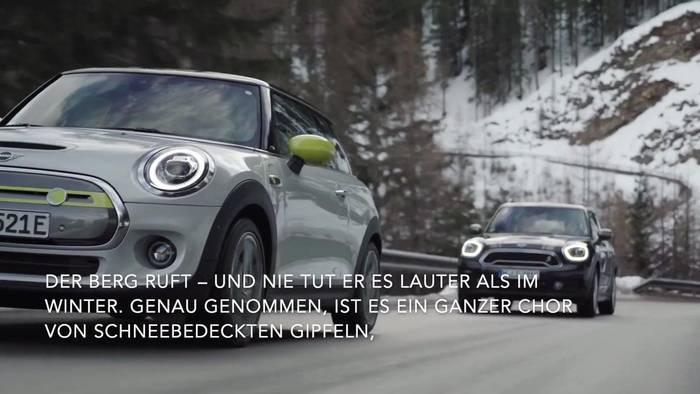 News video: Der Berg ruft, der MINI Electric kommt