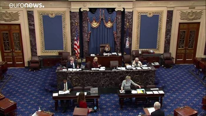 News video: Coronavirus: US-Senat verabschiedet Konjunkturpaket in Höhe von 2000 Milliarden Dollar
