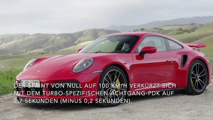 News video: Top-Modell der Baureihe - der Porsche 911 Turbo S