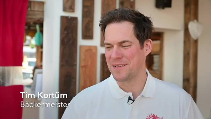 News video: Dortmunder Konditor backt Klopapier-Kuchen