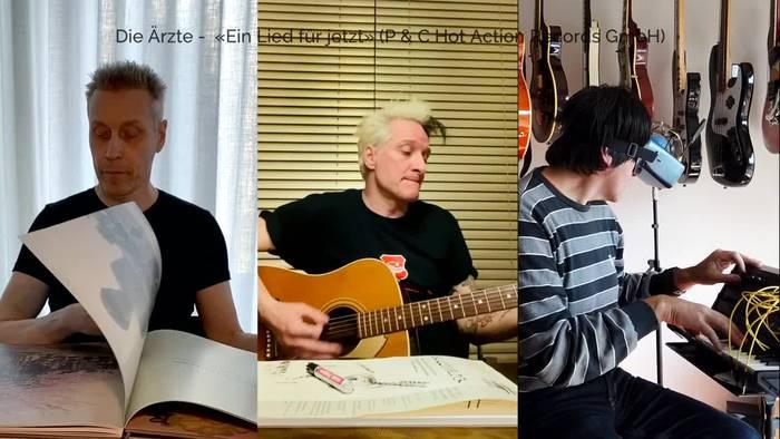 News video: Neue Die Ärzte-Single: Corona-Song aus dem Homeoffice