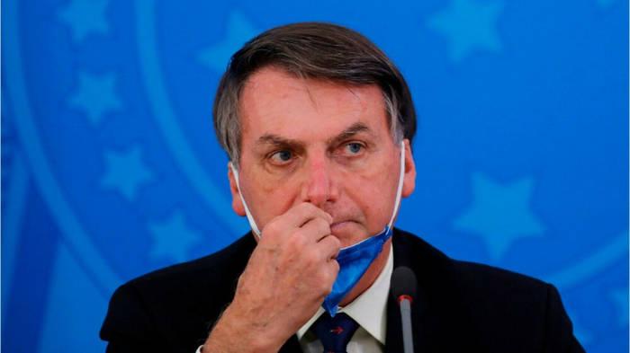 News video: Coronavirus: Brasiliens Präsident Bolsonaro sorgt für Empörung
