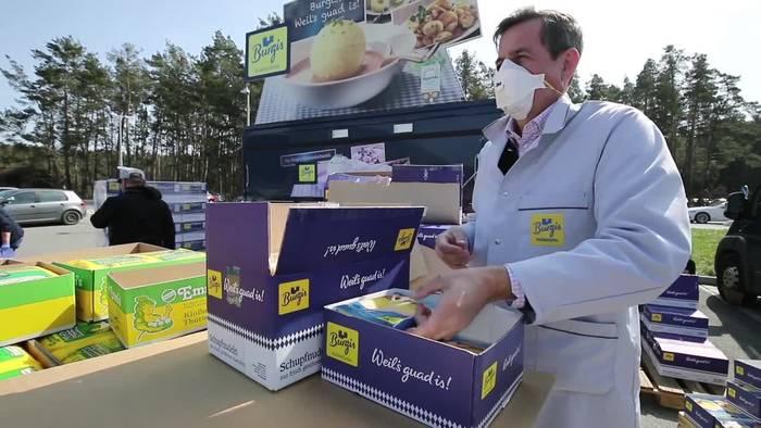 News video: Oberpfalz: Knödel in Corona-Krise für den guten Zweck