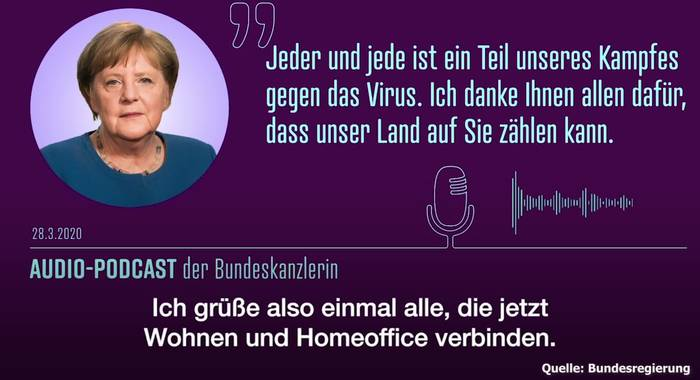 Video: Bundeskanzlerin Angela Merkel: