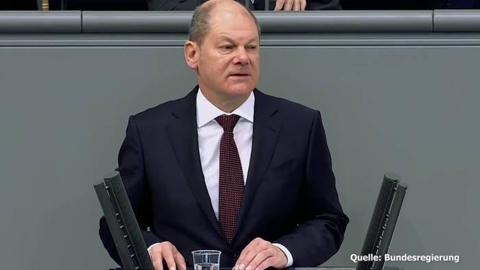 News video: Bundesfinanzminister Scholz: