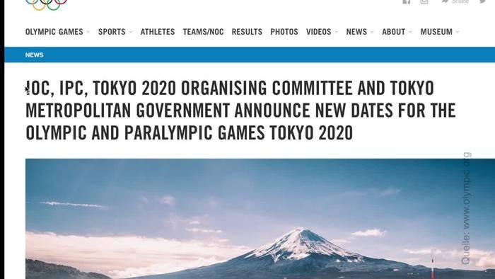 News video: Neuer Olympia-Termin für 2021 steht