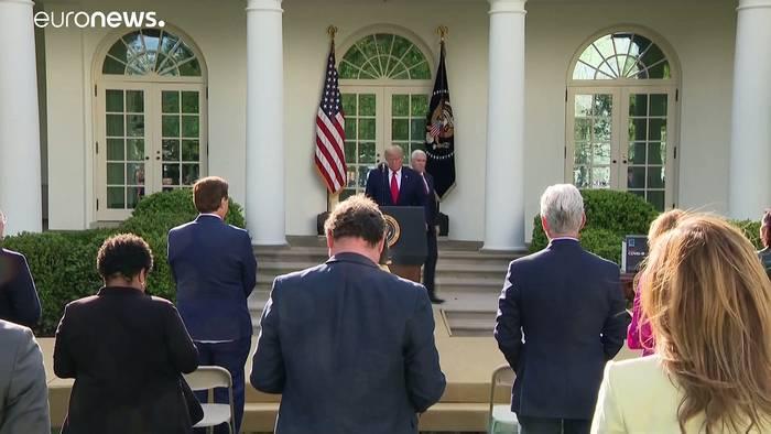 News video: Die USA wollen Beatmungsgeräte herstellen