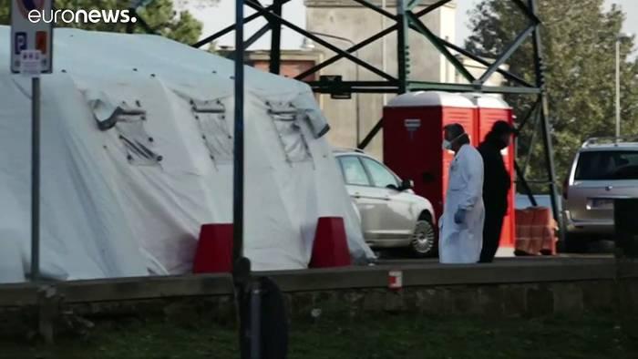 News video: Schweigeminute für die Covid-19-Toten