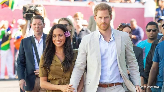News video: Harry und Meghan: Letzter Tag als Royals