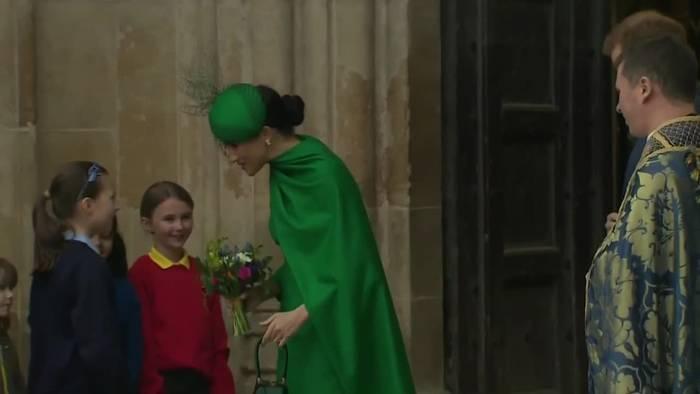 News video: Royaler Abschied - Harry und Meghan starten ihr neues Leben