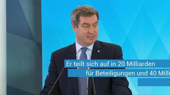 News video: Söder warnt vor wirtschaftlicher Schockstarre