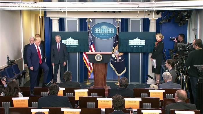 News video: US-Präsident Trump warnt vor