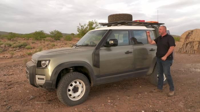 News video: Land Rover Defender 110 – Der neue Defender im Test