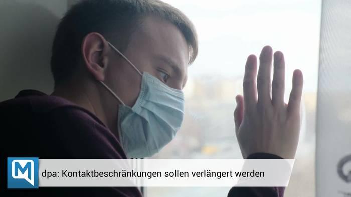 News video: Coronavirus in Deutschland: Kontaktbeschränkungen verlängert