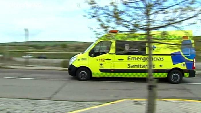 News video: Erstmals mehr Infizierte in Spanien als in Italien
