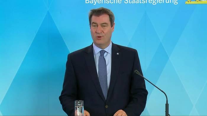 News video: Coronavirus - Söder kündigt Großversuch in Bayern an