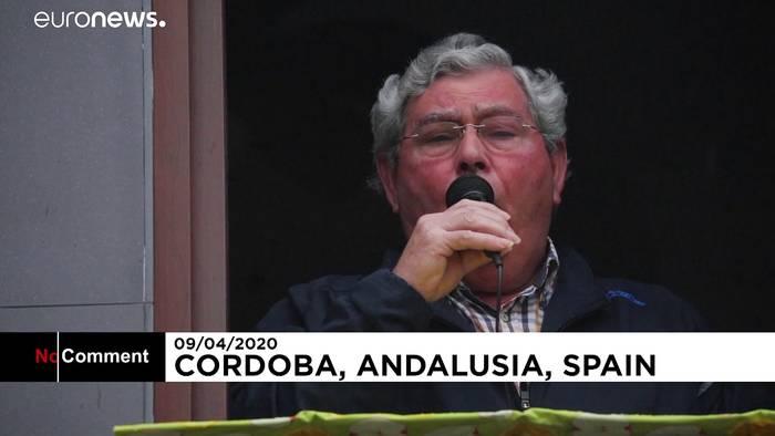 Video: Prozession vom Balkon - die Karwoche in Andalusien