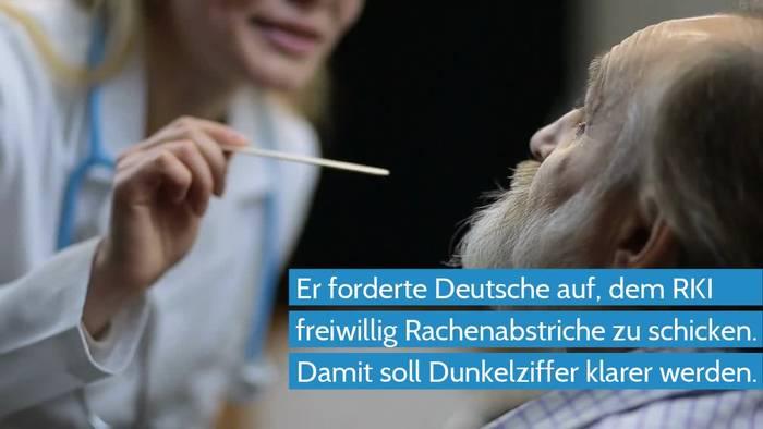 Video: Coronavirus - Robert-Koch-Institut braucht Rachenabstriche