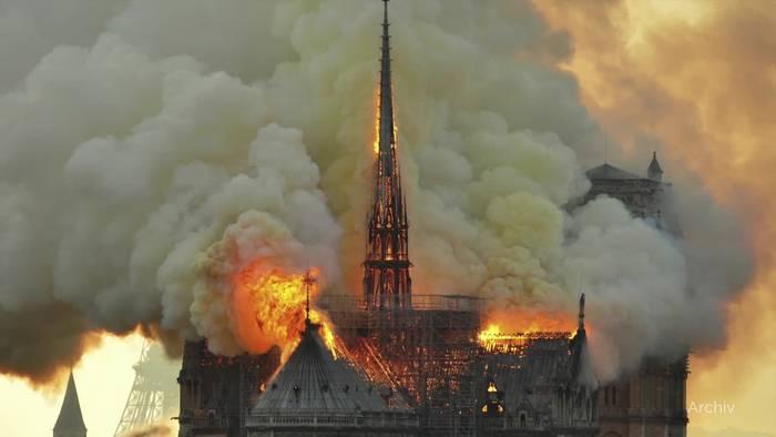 Video: Vor einem Jahr brannte Notre-Dame