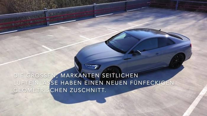 Video: Das Audi RS 5 Coupé und der RS 5 Sportback - das Außendesign