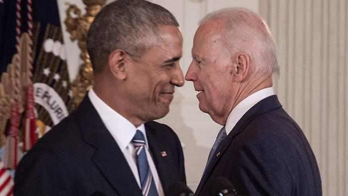 News video: Ex-US-Präsident Barack Obama unterstützt den Kandidaten Joe Biden