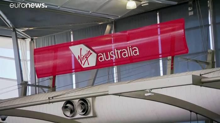 News video: Nächstes Coronaopfer: Fluggesellschaft Virgin Australia ist pleite