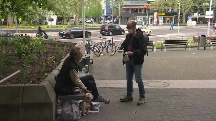 Video: In Corona-Zeiten: Besonderes Essen für Obdachlose in Koblenz