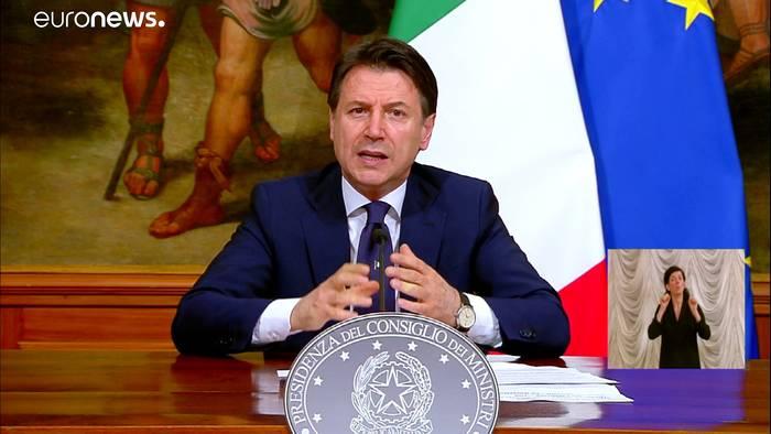 News video: Lockerungen in Italien, Frankreich und Spanien