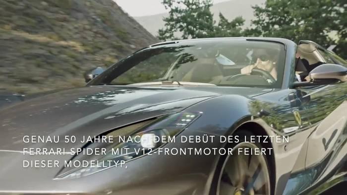 Video: Ferrari 812 GTS - Die Rückkehr des V12 Spider