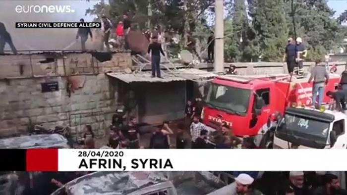 News video: Anschlag in Syrien: Kurden machen Ankara mitverantwortlich