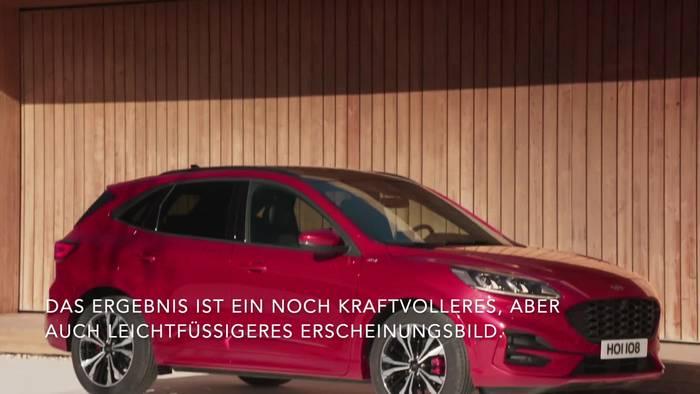 Video: Der neue Ford Kuga - Sieben Ausstattungsvarianten mit eigenen Charakteren