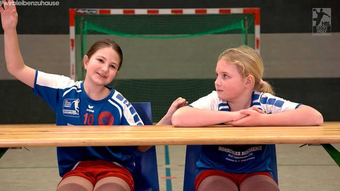 News video: Kinder erklären die Handballwelt: Worum handelt es sich bei diesem