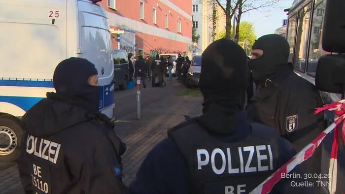 Video: Razzien gegen Hisbollah in vier deutschen Städten