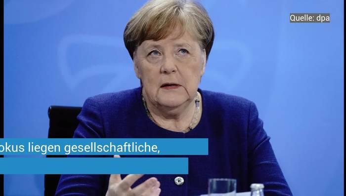 News video: Coronavirus: Bundeskanzlerin und Länderchefs beraten über Lockerungen